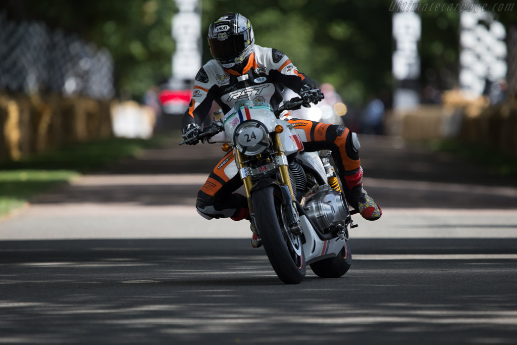 Hesketh 24  - Entrant: Hesketh Motorcycles - Driver: Tommy Hill  - 2014 Goodwood Festival of Speed