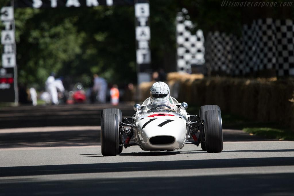 Honda RA272 - Chassis: RA272F-103 - Entrant: Honda Motor Company - Driver: Gabriele Tarquini  - 2014 Goodwood Festival of Speed