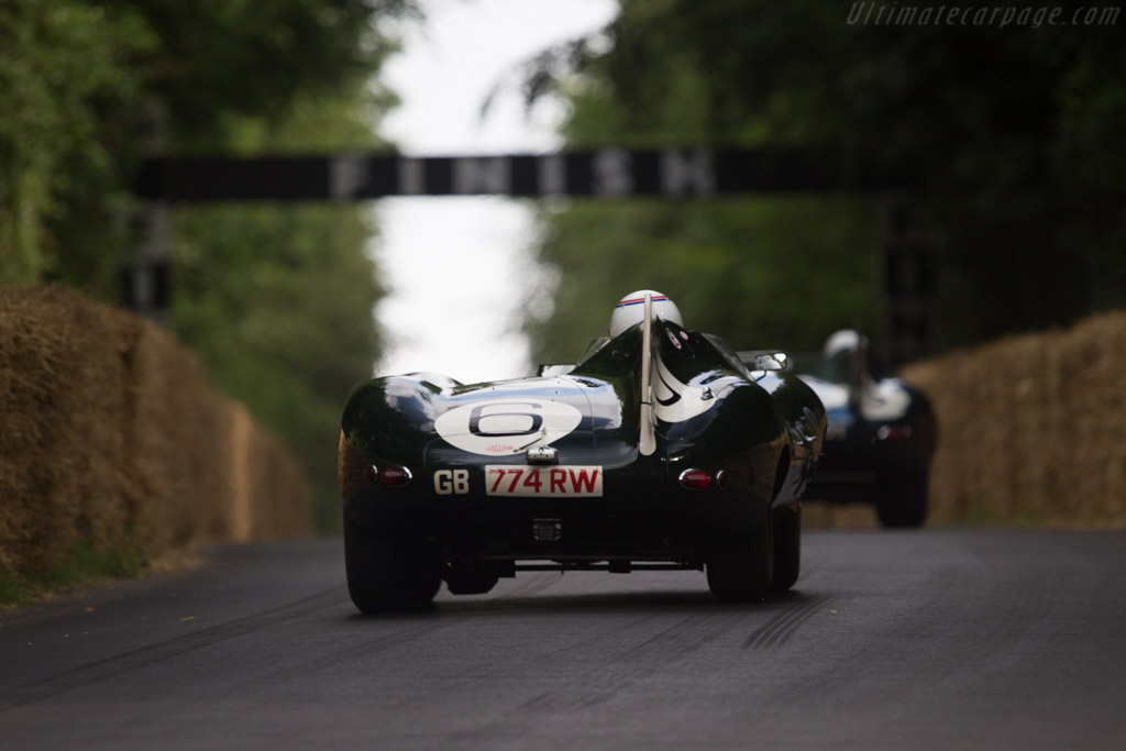 Jaguar D-Type Works Long Nose - Chassis: XKD 505 - Entrant: Trade-Air Limited - Driver: Andy Wallace  - 2014 Goodwood Festival of Speed