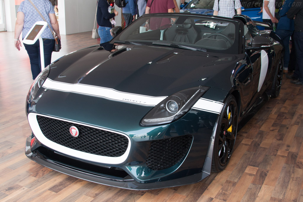 Jaguar F-Type Project 7    - 2014 Goodwood Festival of Speed