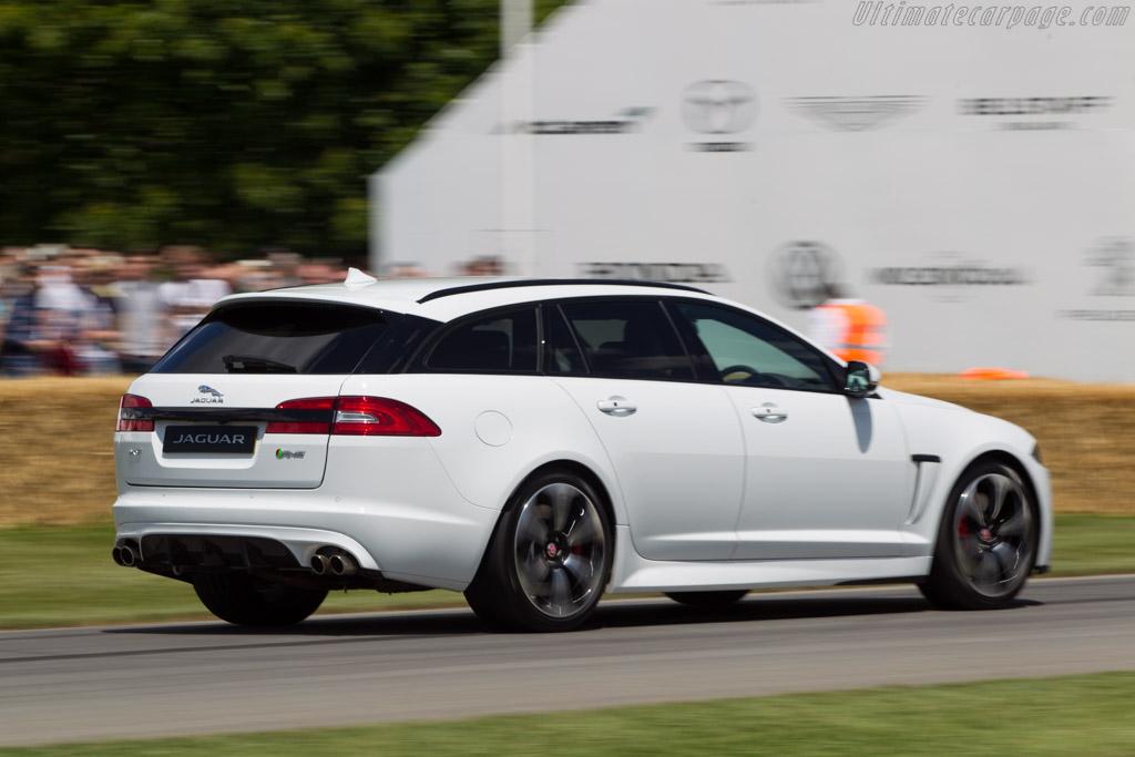 jaguar xfrs sportbrake 2014 goodwood festival of speed