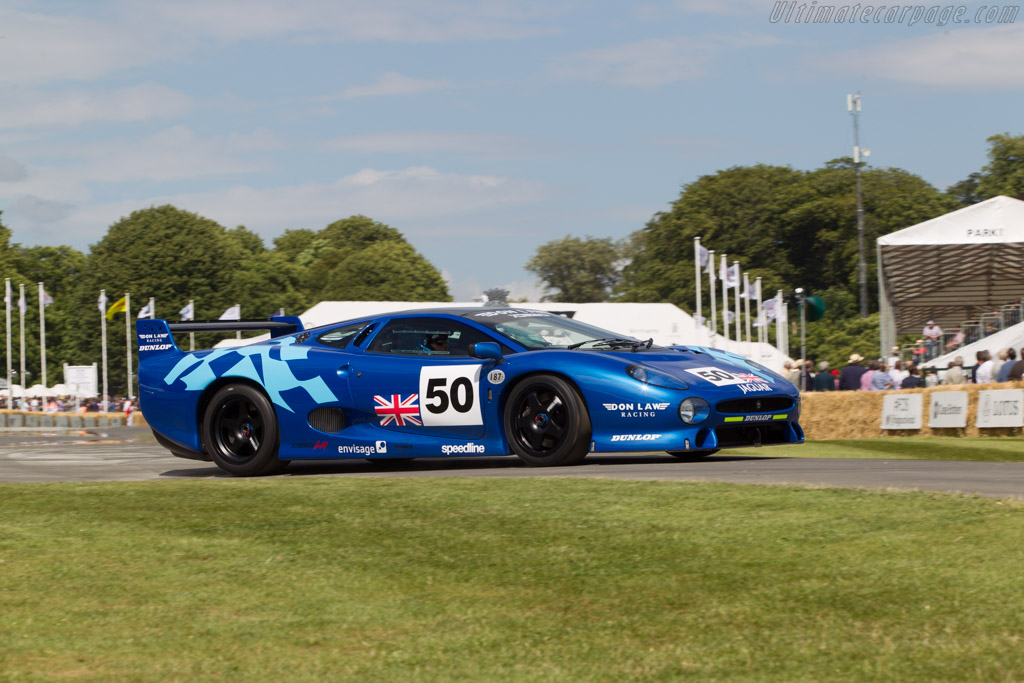 Jaguar XJ220  - Entrant: Don Law Racing - Driver: Justin Law  - 2014 Goodwood Festival of Speed