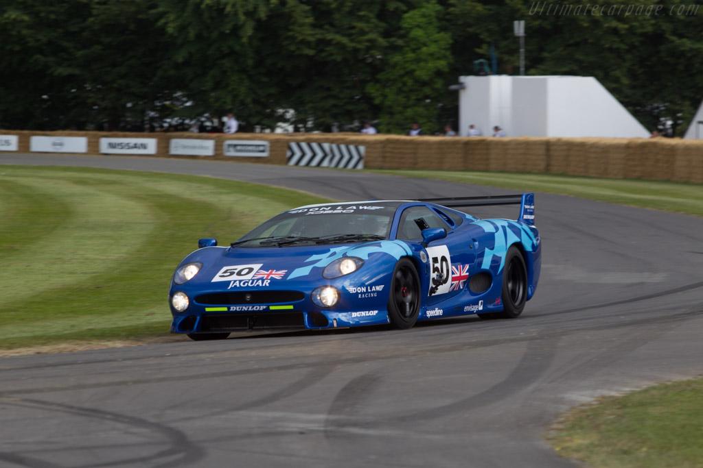 Jaguar XJ220  - Entrant: Don Law Racing - Driver: Justin Law  - 2014 Goodwood Festival of Speed