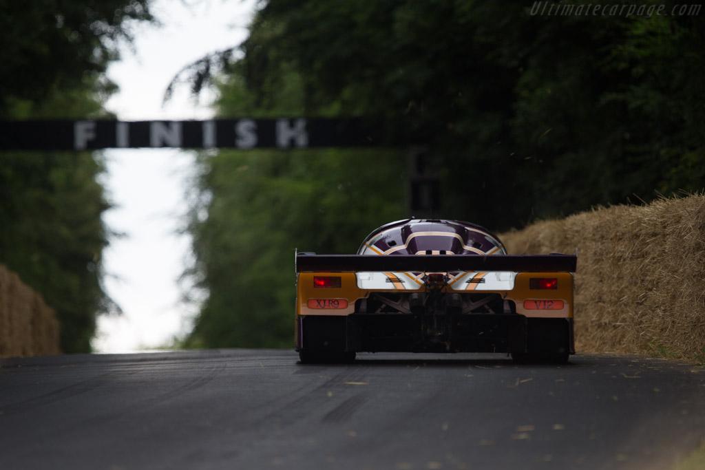 Jaguar XJR-9 - Chassis: J12-C-488 - Entrant: Jaguar Daimler Heritage Trust - Driver: Andrew Frankel  - 2014 Goodwood Festival of Speed