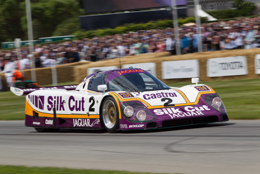 Jaguar XJR-9 - Chassis: J12-C-488 - Entrant: Jaguar Daimler Heritage Trust - Driver: Andy Wallace  - 2014 Goodwood Festival of Speed