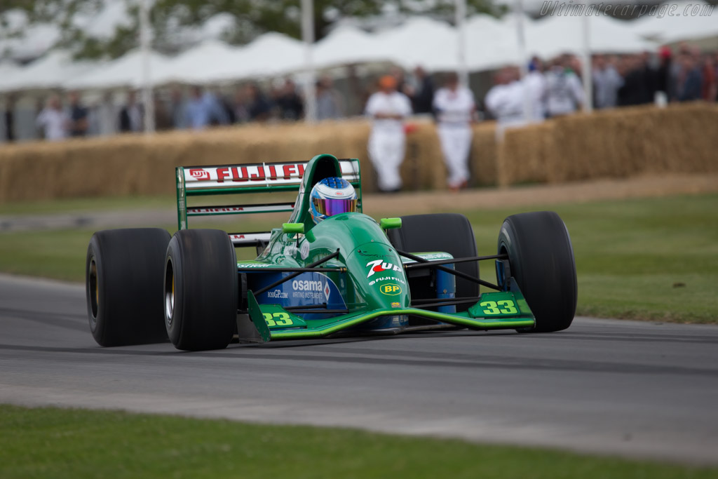 Jordan 191 Cosworth - Chassis: 191-06 - Driver: Didier Sirgue  - 2014 Goodwood Festival of Speed