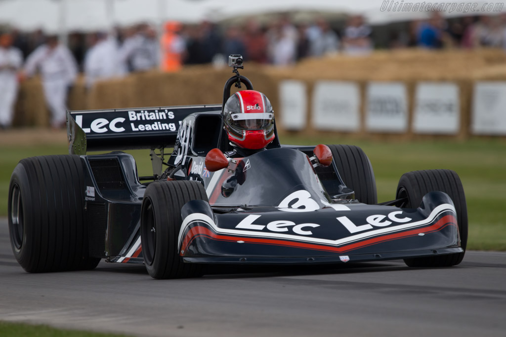 LEC CRP1 Cosworth - Chassis: CRP1-77-002 - Entrant: Gary Wright - Driver: Charlie Birkett  - 2014 Goodwood Festival of Speed