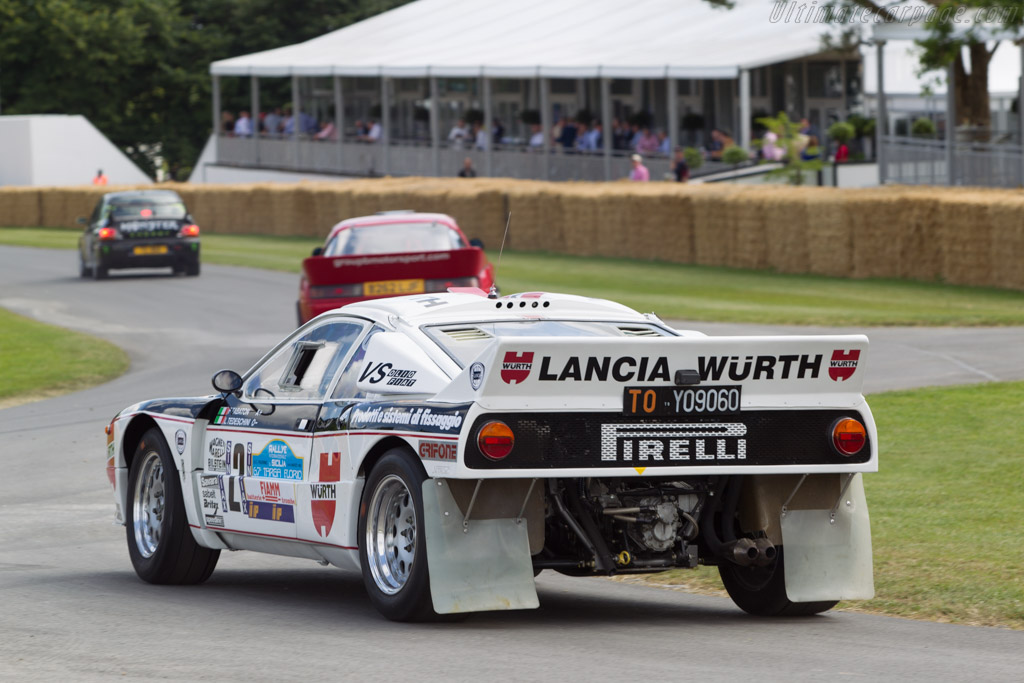 Lancia 037 - Chassis: ZLA151AR0 00000318 - Driver: John Saunders  - 2014 Goodwood Festival of Speed