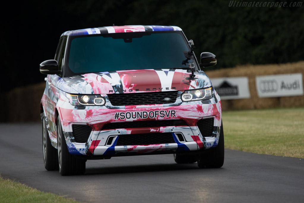 Land Rover Range Rover Sport SVR    - 2014 Goodwood Festival of Speed