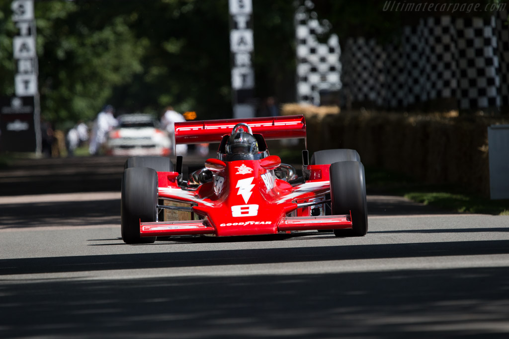 Lightning Cosworth  - Driver: Dave Roberts  - 2014 Goodwood Festival of Speed