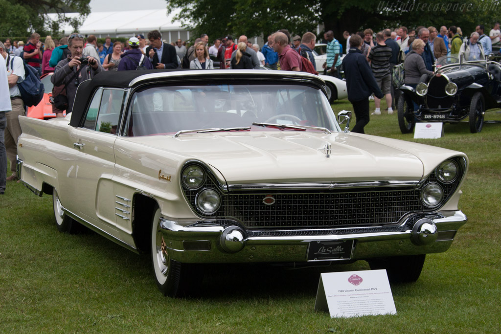 Lincoln Continental Mk V  - Entrant: La Salle Collection  - 2014 Goodwood Festival of Speed