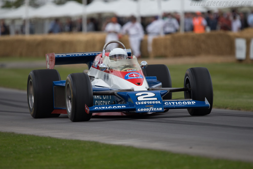 Lola T500 Cosworth - Chassis: HU01 - Entrant: Indianapolis Motor Speedway Hall of Fame - Driver: Al Unser Sr  - 2014 Goodwood Festival of Speed