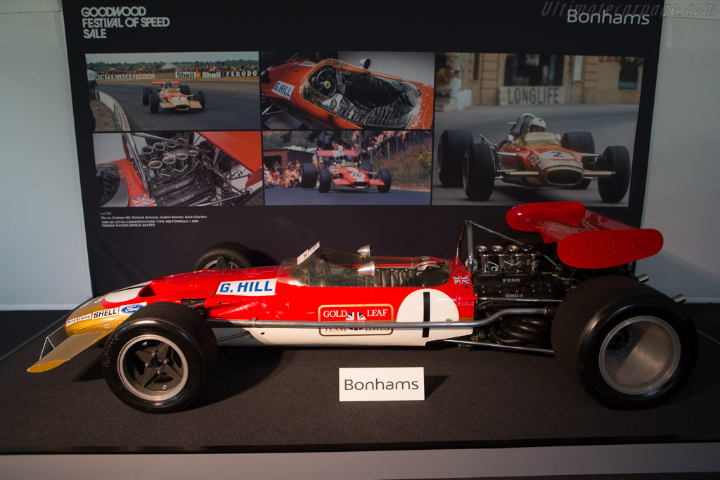 Lotus 49B Cosworth - Chassis: R8   - 2014 Goodwood Festival of Speed