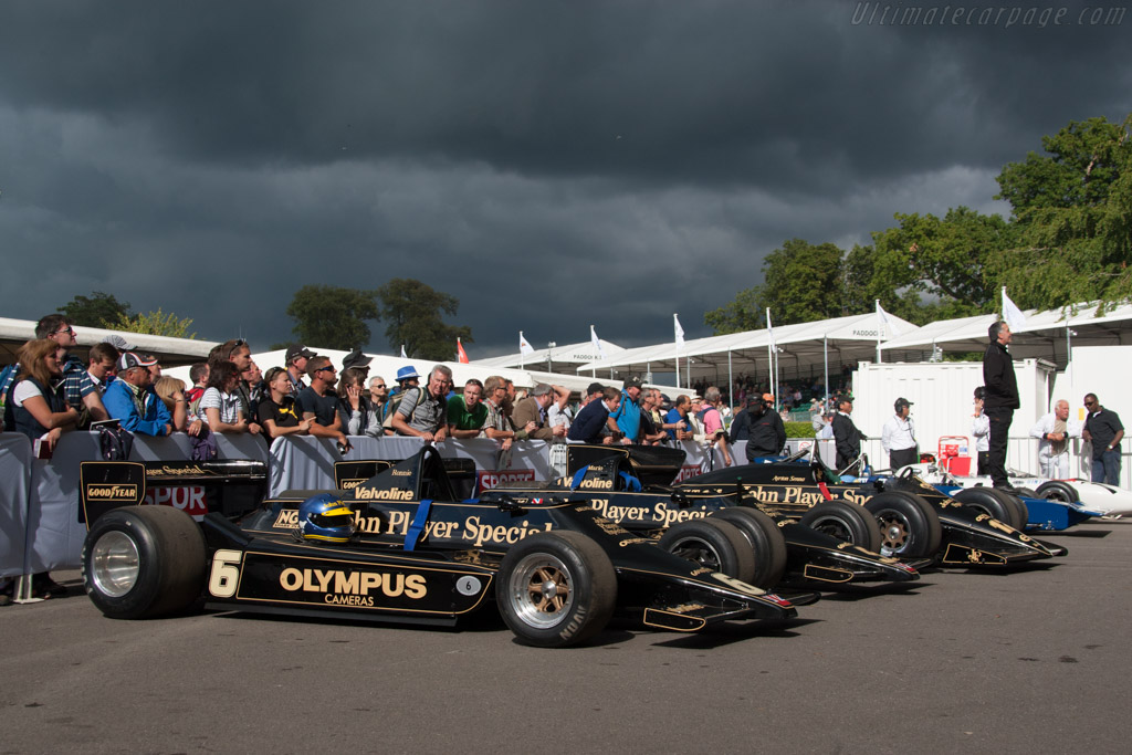 Lotus 79 Cosworth - Chassis: 79/2 - Entrant: Classic Team Lotus  - 2014 Goodwood Festival of Speed
