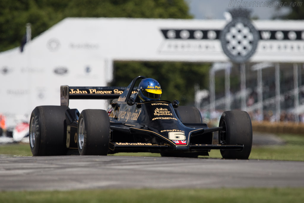 Lotus 79 Cosworth - Chassis: 79/2 - Entrant: Classic Team Lotus - Driver: Andrew Beaumont  - 2014 Goodwood Festival of Speed
