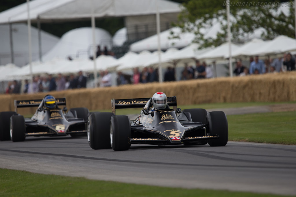 Lotus 79 Cosworth - Chassis: 79/3 - Entrant: Classic Team Lotus - Driver: Dan Collins  - 2014 Goodwood Festival of Speed