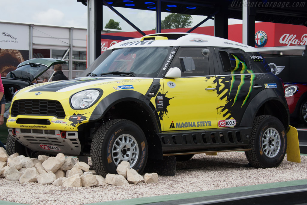 MINI John Cooper Works All 4    - 2014 Goodwood Festival of Speed