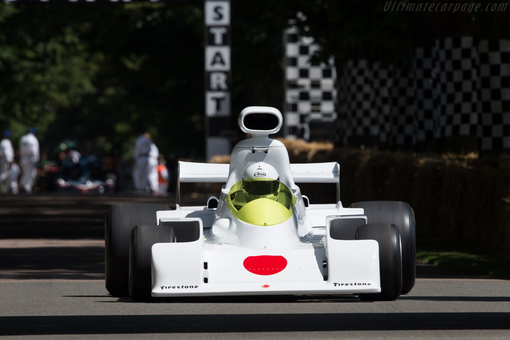 Maki F101A Cosworth - Chassis: F101/00 - Entrant / Driver Shoji Tochibayashi  - 2014 Goodwood Festival of Speed