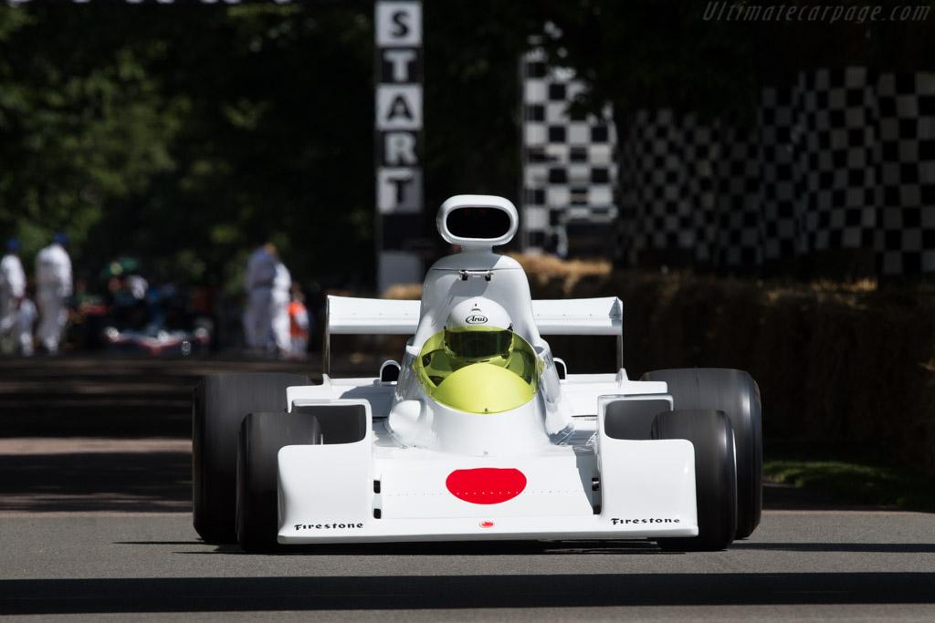Maki F101A Cosworth - Chassis: F101/00 - Entrant / Driver Shoji Tochibayashi - 2014 Goodwood Festival of Speed