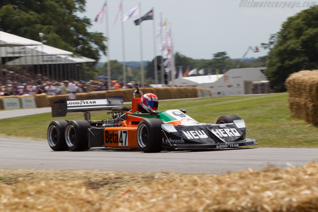 March 2-4-0 Cosworth  - Entrant: Anthony Smith - Driver: Jeremy Smith  - 2014 Goodwood Festival of Speed