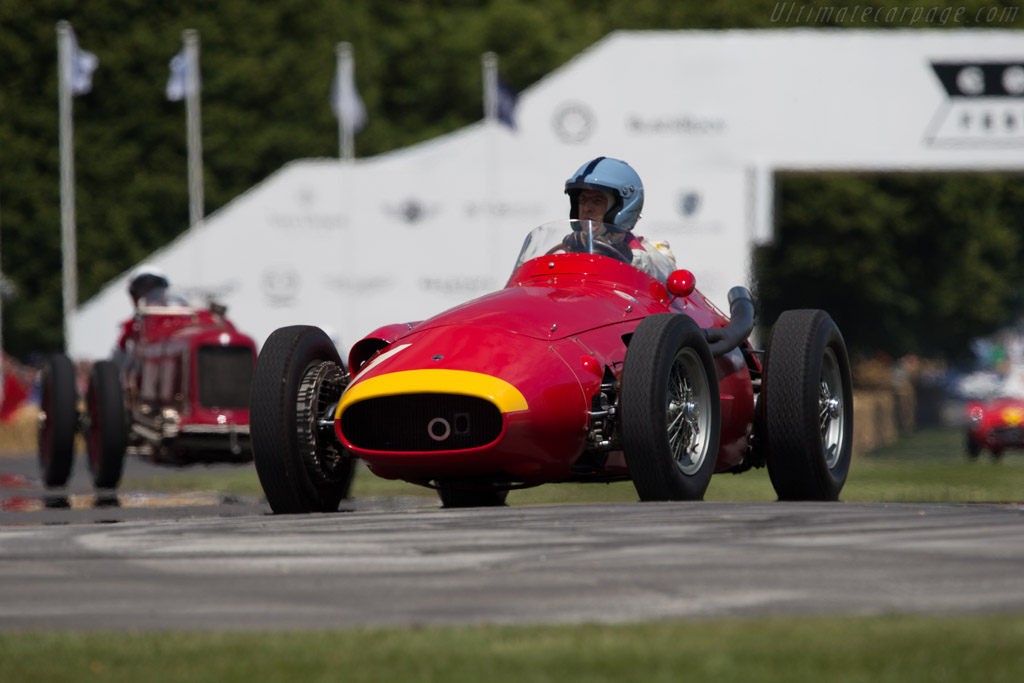 Maserati 250F Lightweight - Chassis: 2529 - Driver: Lukas Huni  - 2014 Goodwood Festival of Speed