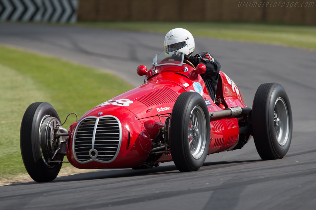 Maserati 4CLT - Chassis: 1600 - Driver: Rainer Ott  - 2014 Goodwood Festival of Speed