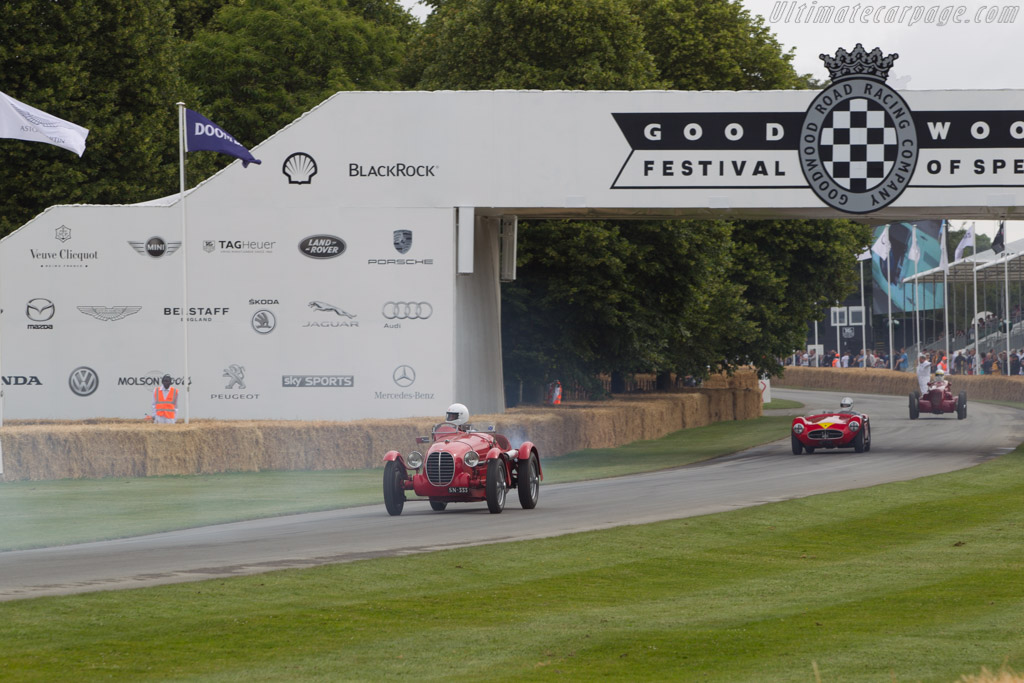Maserati 4CS - Chassis: 1126 - Driver: Adam Painter  - 2014 Goodwood Festival of Speed