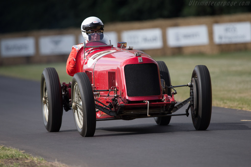 Maserati 8C 3000 - Chassis: 3002 - Entrant: Louwman Museum - Driver: Berend Hulshoff  - 2014 Goodwood Festival of Speed