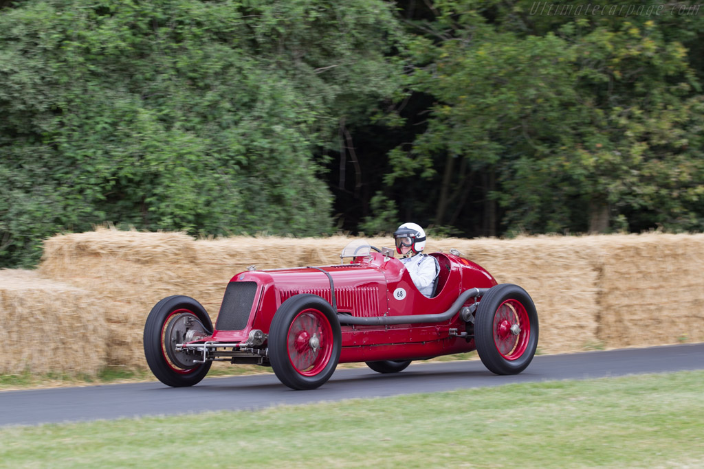 Maserati 8CM - Chassis: 3005 - Entrant: Louwman Museum - Driver: Josine Louwman-Van Dorth  - 2014 Goodwood Festival of Speed
