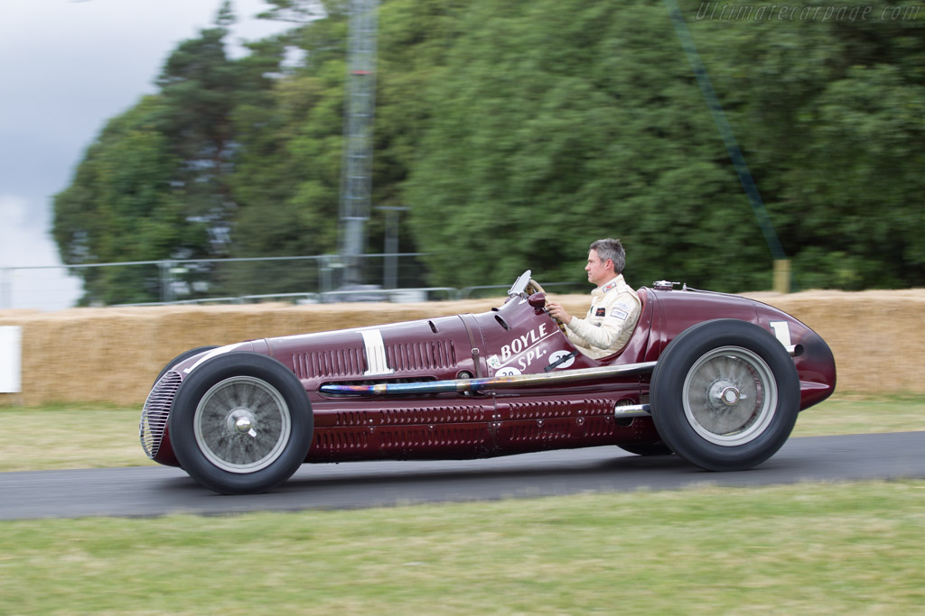 Maserati 8CTF - Chassis: 3032 - Entrant: Indianapolis Motor Speedway Hall of Fame - Driver: James Wood  - 2014 Goodwood Festival of Speed