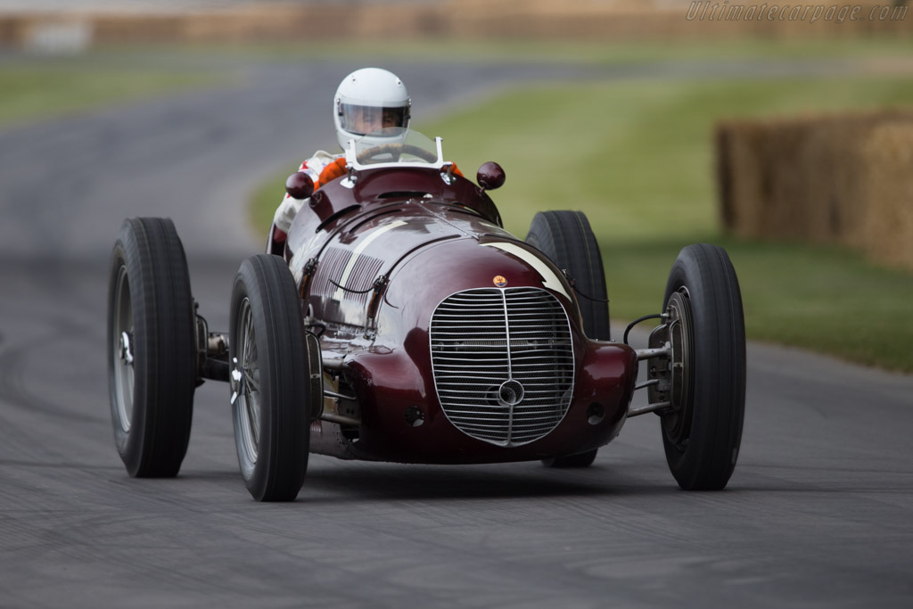Maserati 8CTF - Chassis: 3032 - Entrant: Indianapolis Motor Speedway Hall of Fame - Driver: Al Unser Sr  - 2014 Goodwood Festival of Speed