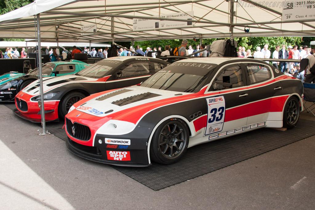 Maserati Quattroporte V8 Superstars  - Entrant: Swiss Team  - 2014 Goodwood Festival of Speed