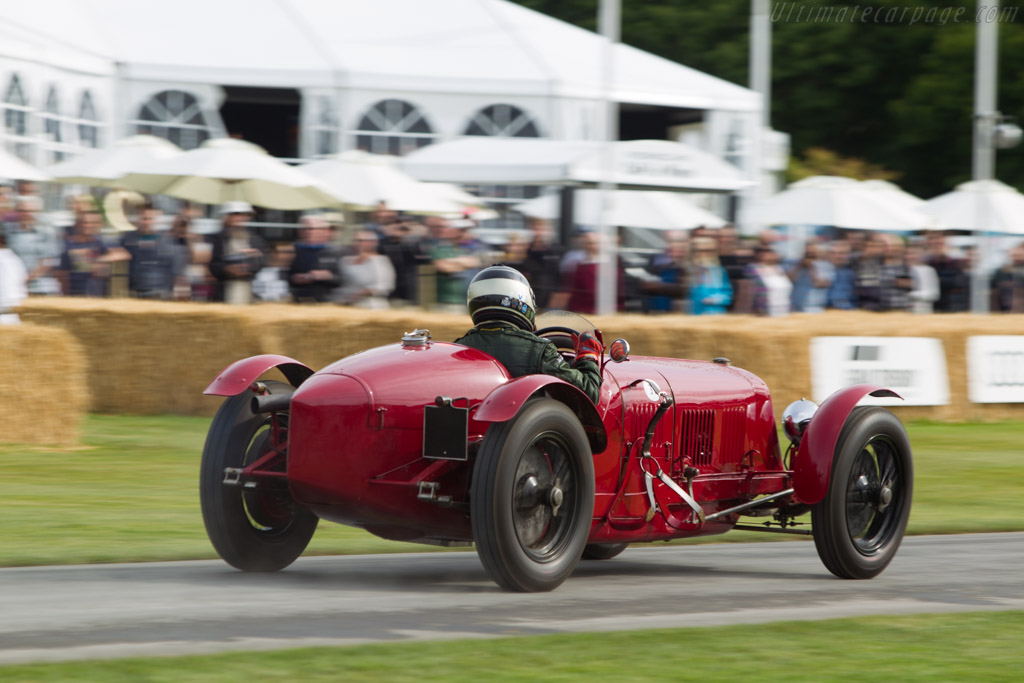 Maserati Tipo 26M  - Entrant: Julian Mazjub - Driver: Duncan Ricketts  - 2014 Goodwood Festival of Speed