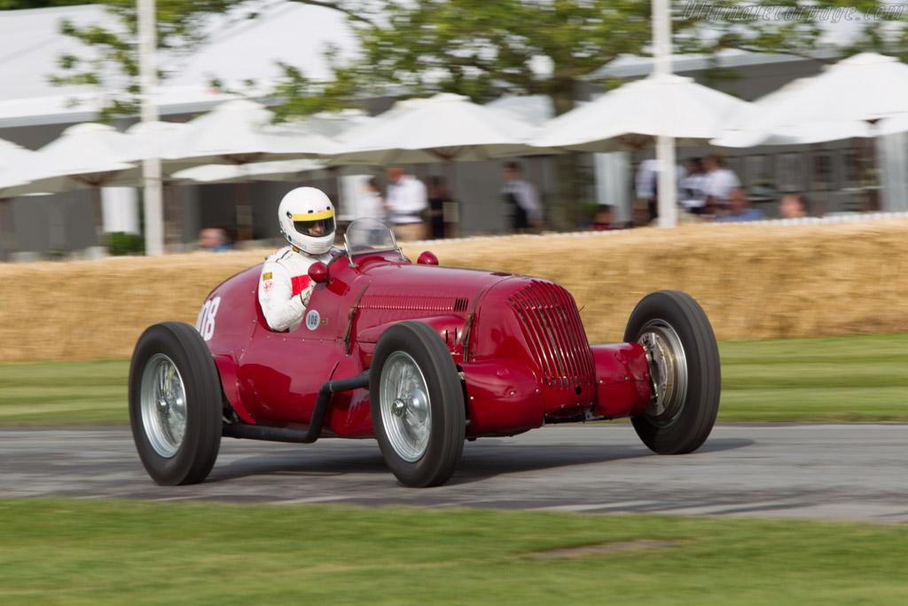 Maserati V8RI - Chassis: 4501 - Driver: Michael Gans  - 2014 Goodwood Festival of Speed