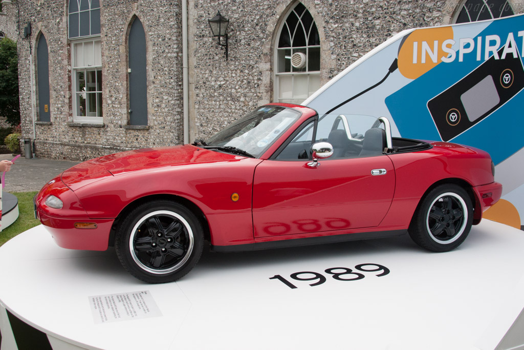 Mazda Eunos Roadster    - 2014 Goodwood Festival of Speed