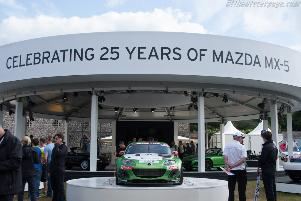 Mazda MX-5 GT4    - 2014 Goodwood Festival of Speed