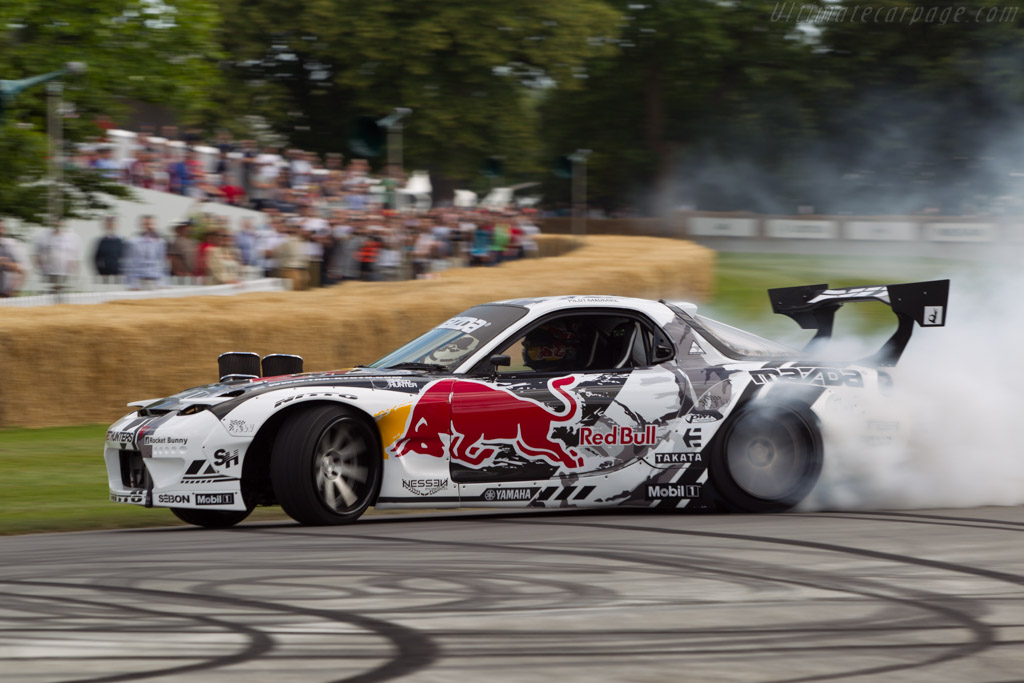Mazda RX-7 FD - Chassis: FD35-201309 - Driver: Mike Whiddett  - 2014 Goodwood Festival of Speed