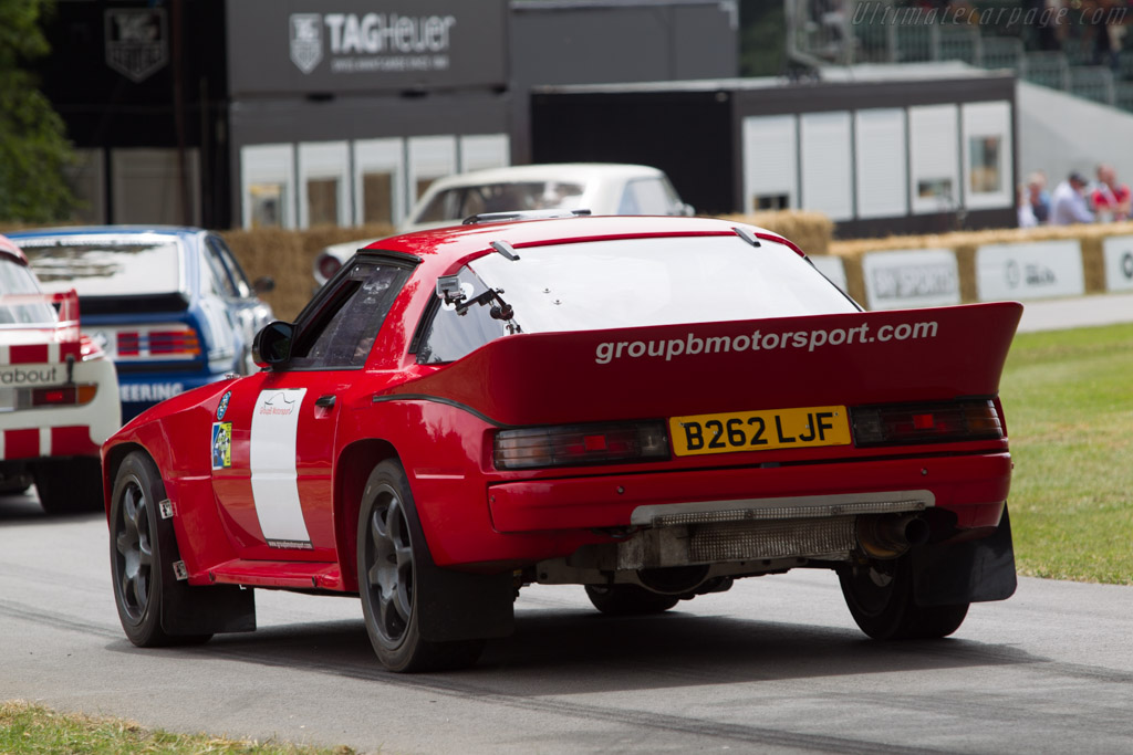 Mazda RX-7 Group B  - Entrant: Mazda Europe - Driver: Dave Paveley  - 2014 Goodwood Festival of Speed
