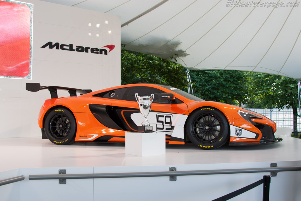 McLaren 650S GT3    - 2014 Goodwood Festival of Speed
