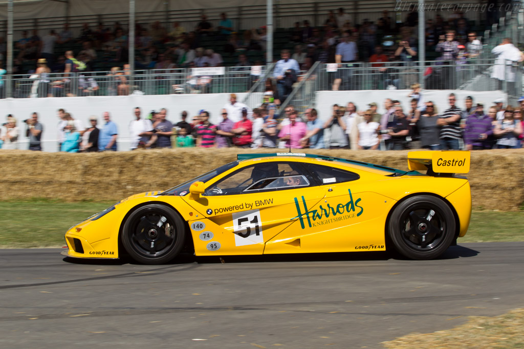McLaren F1 GTR - Chassis: 06R - Entrant: David Clark - Driver: Harry Tincknell - 2014 Goodwood Festival of Speed