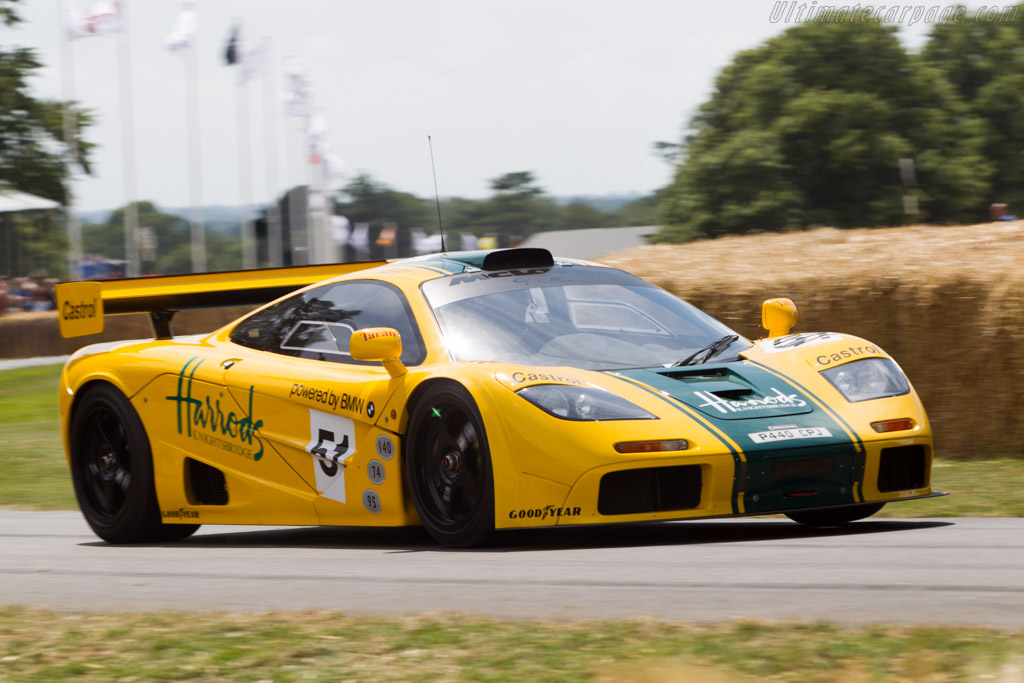 McLaren F1 GTR - Chassis: 06R - Driver: David Clark  - 2014 Goodwood Festival of Speed