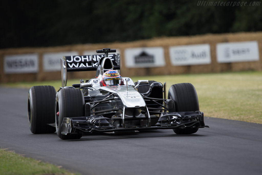 McLaren MP4-26 Mercedes - Chassis: MP4-26A-02 - Entrant: McLaren International - Driver: Jenson Button  - 2014 Goodwood Festival of Speed