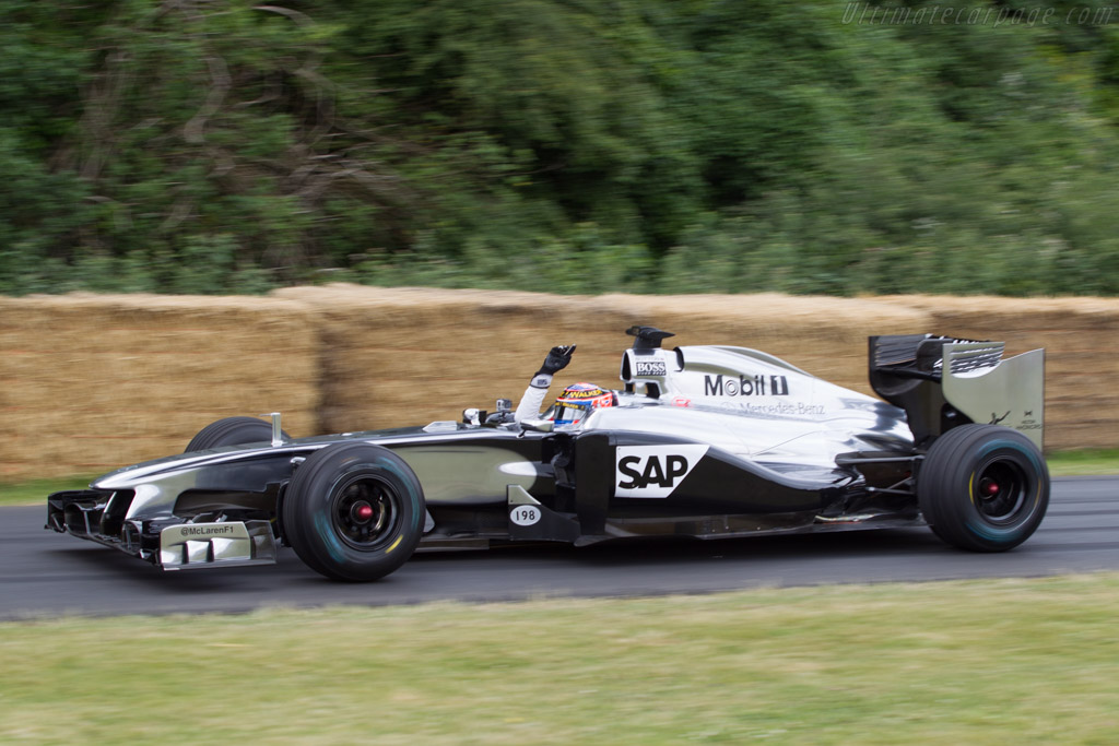 McLaren MP4-26 Mercedes - Chassis: MP4-26A-02 - Entrant: McLaren International - Driver: Jenson Button  - 2014 Goodwood Festival of Speed