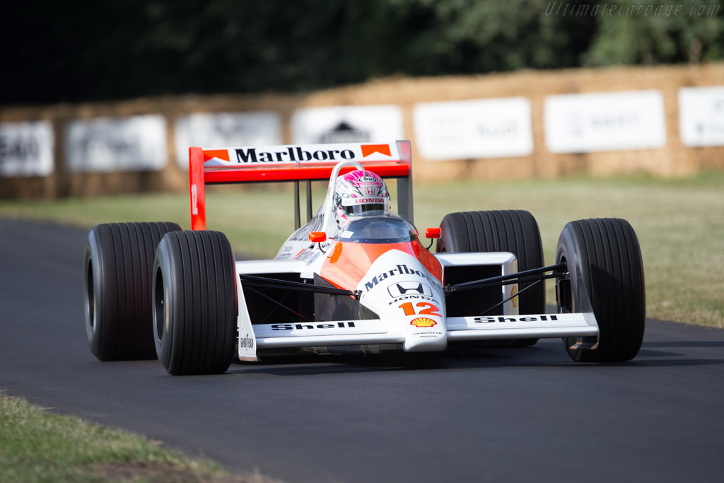 McLaren MP4/4 Honda - Chassis: MP4/4-5 - Entrant: Honda Motor Company - Driver: Takuya Izawa  - 2014 Goodwood Festival of Speed
