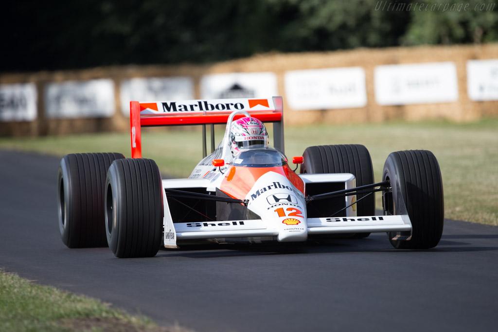 McLaren MP4/4 Honda - Chassis: MP4/4-5 - Entrant: Honda Motor Company - Driver: Takuya Izawa - 2014 Goodwood Festival of Speed