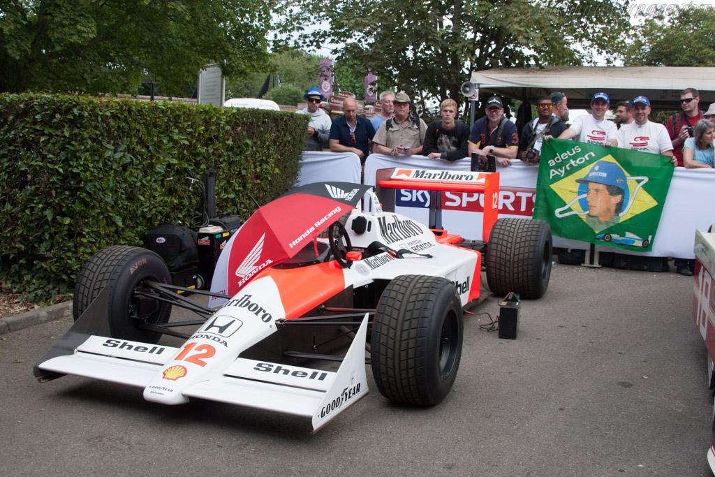 McLaren MP4/4 Honda - Chassis: MP4/4-5 - Entrant: Honda Motor Company  - 2014 Goodwood Festival of Speed