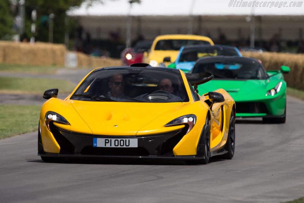 McLaren P1    - 2014 Goodwood Festival of Speed