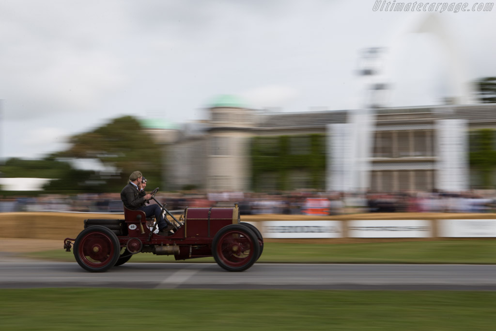 Mercedes 60hp  - Entrant: Ben Collings - Driver: Gareth Graham  - 2014 Goodwood Festival of Speed