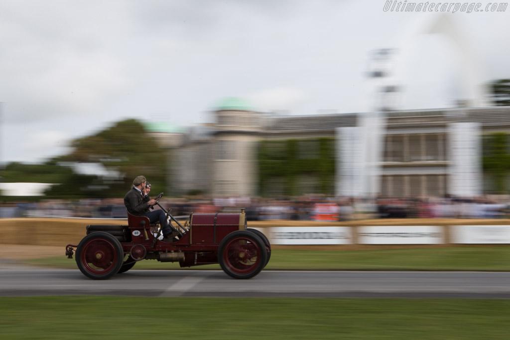 Mercedes 60hp  - Entrant: Ben Collings - Driver: Gareth Graham  - 2014 Goodwood Festival of Speed