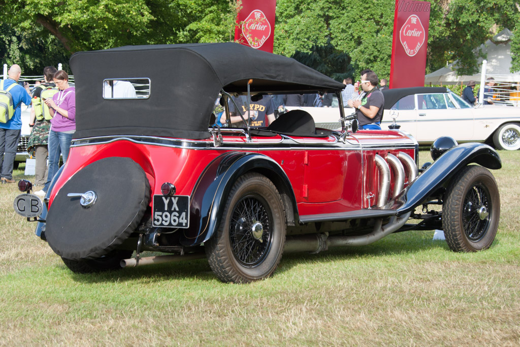Mercedes-Benz 36/220 S  - Entrant: National Motor Museum  - 2014 Goodwood Festival of Speed